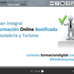 Plan Integral de Formación Online Hostelería y Turismo | Juan José Correa