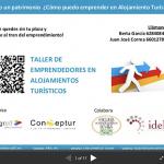 Taller de Emprendedores Turísticos en Alojamiento | Juan José Correa